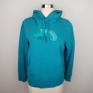 The North Face Women's Hoodie Blue Sweatshirt